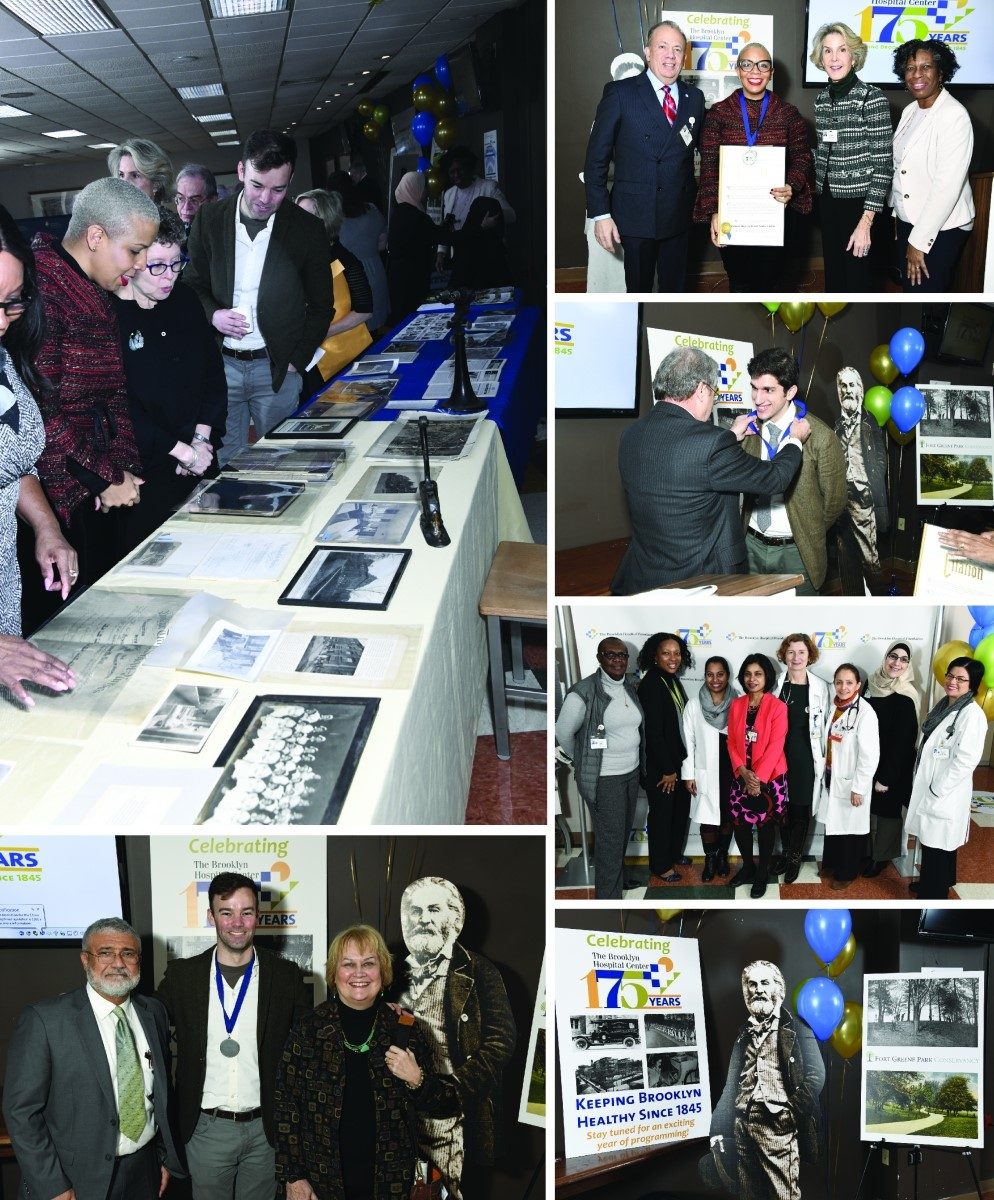 Collage of photos from our January 31 event