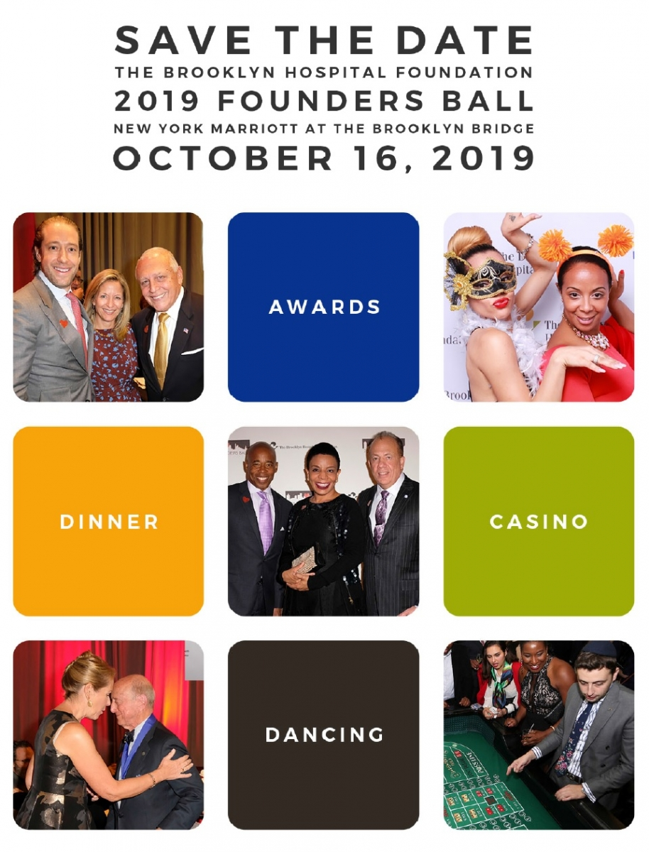 Save the date for our 2019 Founders Ball on 10/16/19
