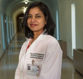 Vasantha Kondamudi, MD, Senior Vice President and Chief Patient Safety & Quality Officer