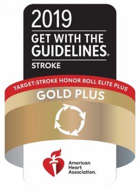 Target: Stroke Honor Role Elite plus Gold plus Quality Achievement Award