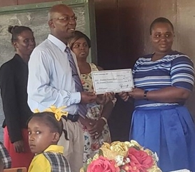 Dr. Keith Cummings Donates More than $4 Million in STEM Literature to Guyana