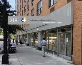 A rendering of the soon-to-be-open Myrtle Avenue Dialysis