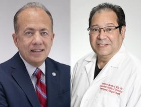 Gary G. Terrinoni and Dr. Antonio Mendez