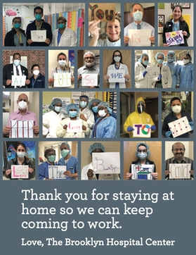 "The Brooklyn Hospital Center Says ""THANK YOU!"""