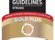 Target: Stroke Honor Role Elite plus Gold plus Quality Achievement Award